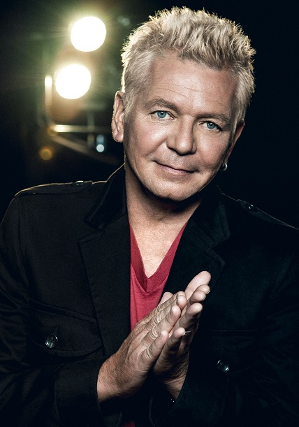 Man of colours: Icehouse frontman Iva Davies