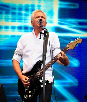 Electric blue: Icehouse frontman Iva Davies PICTURE: JO BOYD RIVERLEA PHOTOGRAPHY